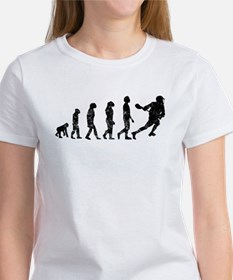 Distressed Lacrosse Evolution T-Shirt