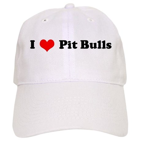 I Love Pitbulls Cap