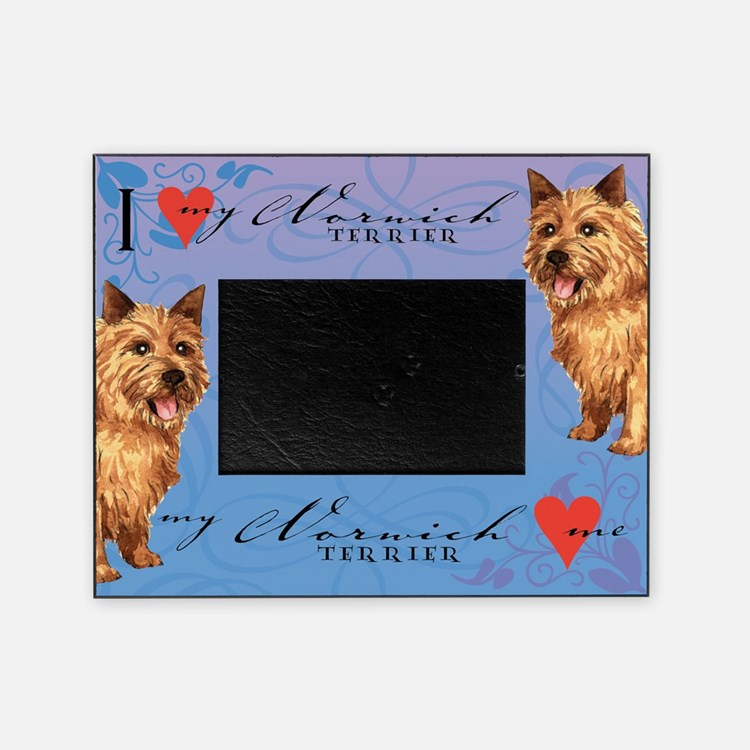Norwich Terrier Picture Frame