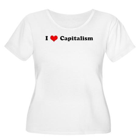 I Love Capitalism Women's Plus Size Scoop Neck T-