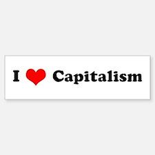 I Love Capitalism Bumper Bumper Bumper Sticker