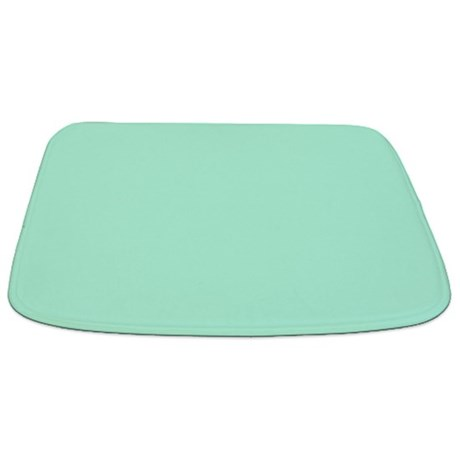 Solid Mint Green Bathmat