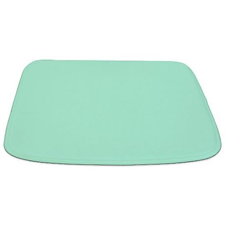 Solid Mint Green Bathmat