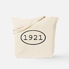 1921 Oval Tote Bag