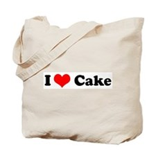 I Love Cake Tote Bag