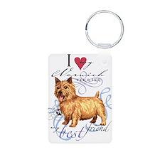 Norwich Terrier Keychains