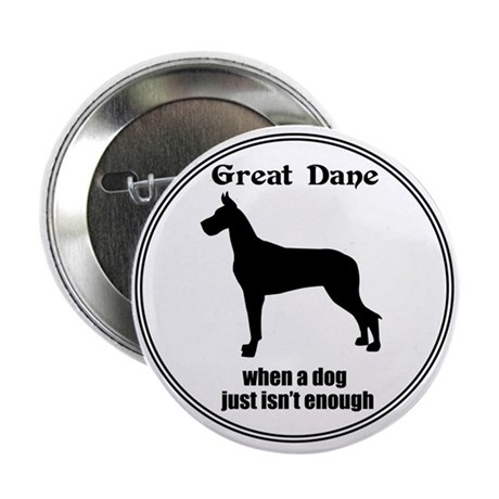 "Dane Enough (Cr) 2.25"" Button (10 pack)"