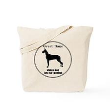 Dane Enough (Cr) Tote Bag