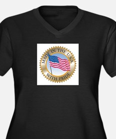 MADE IN THE USA SEAL! Plus Size T-Shirt