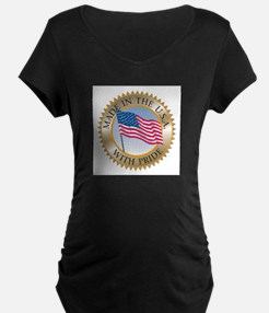 MADE IN THE USA SEAL! Maternity T-Shirt