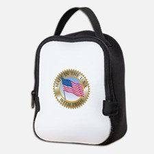 MADE IN THE USA SEAL! Neoprene Lunch Bag