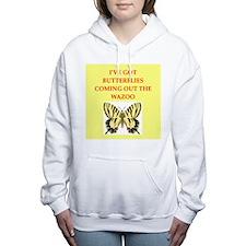 butterfly Women's Hooded Sweatshirt