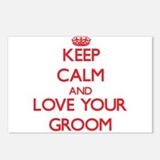 Keep Calm and Love your Groom Postcards (Package o