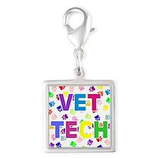 Vet Tech W/Paws Charms