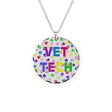Vet Tech W/paws Necklace