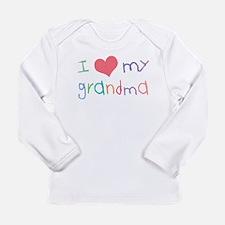 Cute Grandma Long Sleeve Infant T-Shirt