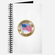 MADE IN THE USA SEAL! Journal