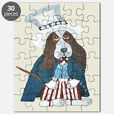 Bbasset Hound Uncle Sam Puzzle