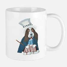 BBasset Hound Uncle Sam Mugs