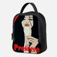 Prosecco Woman Neoprene Lunch Bag