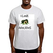 I Love Avocados T-Shirt