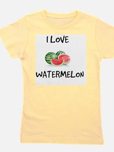 I Love Watermelon Girl's Tee