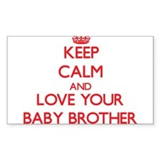 Keep Calm and Love your Baby Brother Decal