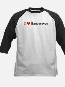 I Love Explosives Tee
