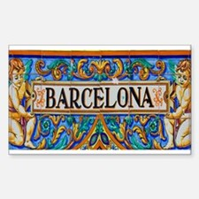 Barcelona Mosaica Decal