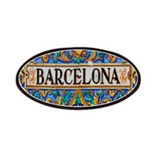 Barcelona Mosaica Patches