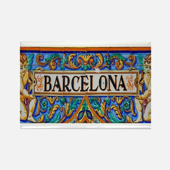 Barcelona Mosaica Magnets