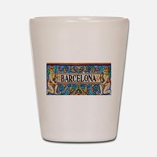 Barcelona Mosaica Shot Glass