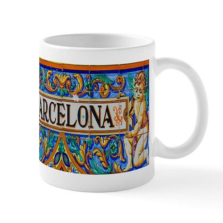 Barcelona mosaica mugs by diablo15 for Mug barcelona