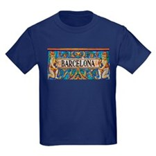 Barcelona Mosaica T-Shirt