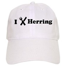 I Eat Herring Baseball Cap