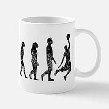 Distressed Basketball Evolution Mugs