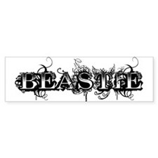 Maleficent Beastie Bumper Bumper Sticker