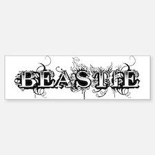 Maleficent Beastie Bumper Car Car Sticker
