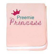 Preemie Princess baby blanket