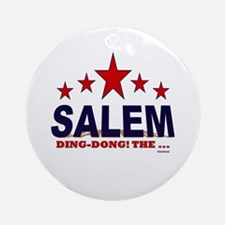 Salem Ding-Dong! The ... Ornament (Round)