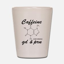 Caffeine QD and PRN Shot Glass