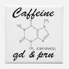 Caffeine QD and PRN Tile Coaster