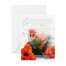 Glorious Things Of Thee Are Spoken Greeting Cards