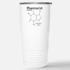 Powered by Caffeine Stainless Steel Travel Mug