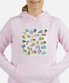 J'apprends l'alphabet fr Women's Hooded Sweatshirt