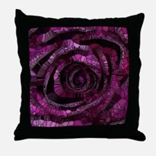 Rose - Abstract 006 Throw Pillow