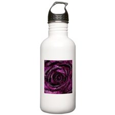 Rose - Abstract 006 Sports Water Bottle
