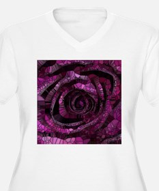 Rose - Abstract 006 Plus Size T-Shirt