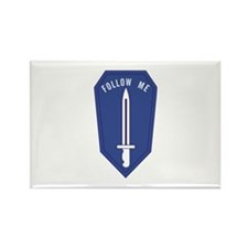 Army Infantry School Rectangle Magnet