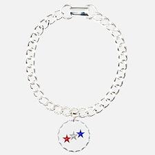 Three Shiny Stars Bracelet